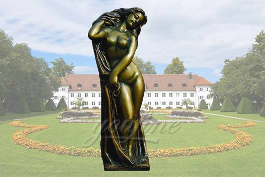 Garden bronze woman life size nude statues for sale