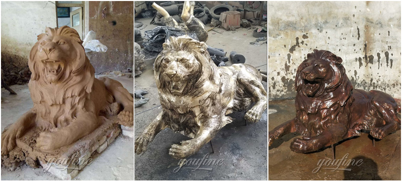 outdoor lion sstatue for sale