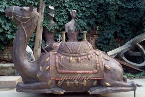 Bronze miniature camel figurine for sale