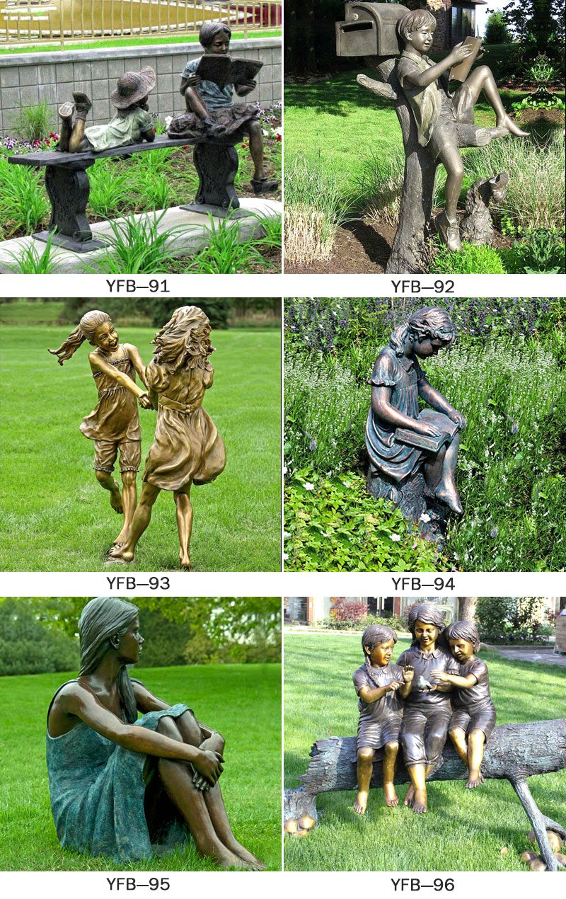 Life Size Bronze Mermaid Statue for Outdoor Decoration BOKK-683