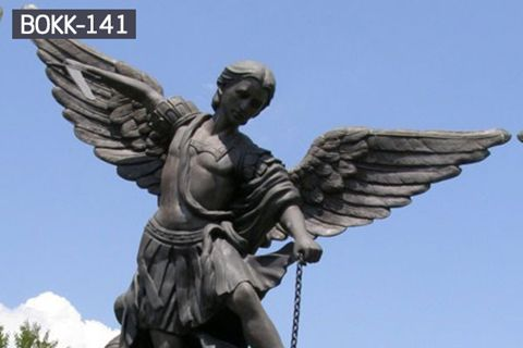 Life Size Archangel Holy Michael Statue with Competitive Price BOKK-141