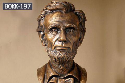 Cheap Best Bronze Old Gentleman Bust Statue for Sale BOKK-197