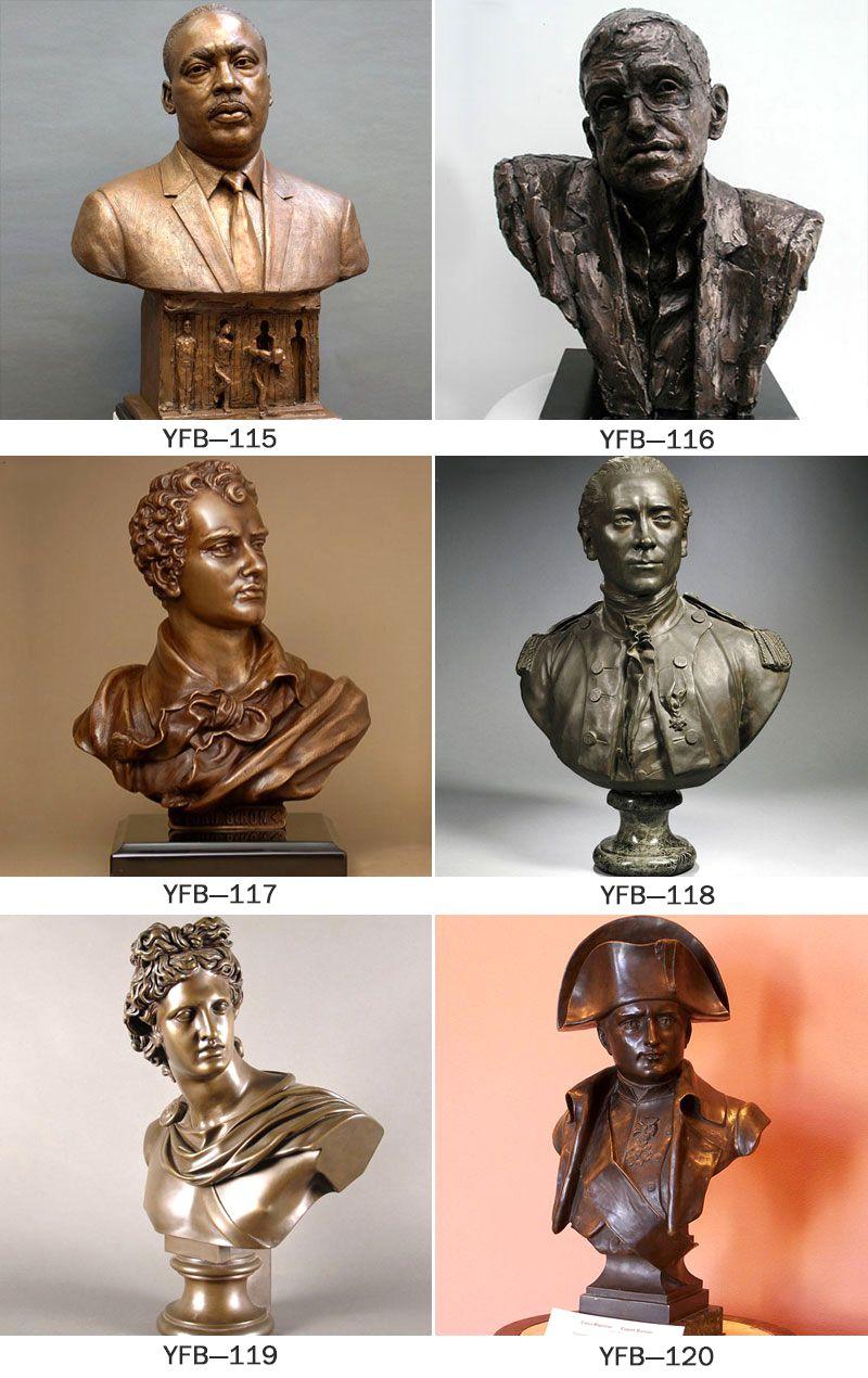 Beautiful Bronze Mona Lisa Bust Statue for Indoor BOKK-202