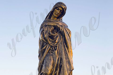 Classic Famous Bronze Virgin Mary Statue with Lowest Price BOKK-636