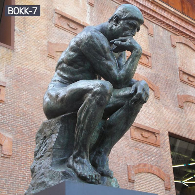 Guarantee Quality Famous Bronze Thinker Statue Online Sale BOKK-7