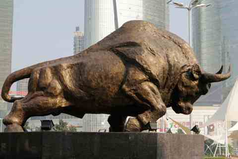 Customized Huge Bronze Bull Statue with Competitive Price BOOK-351