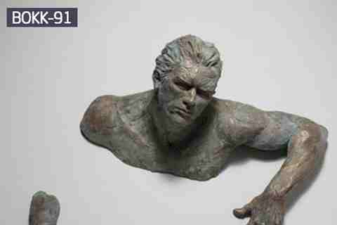 Classic Famous Bronze Matteo Pugliese Wall Sculpture from Manufacturer BOKK-91