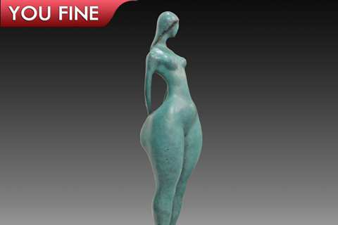 New Popular Design Bronze Fat Woman Statue for Sale