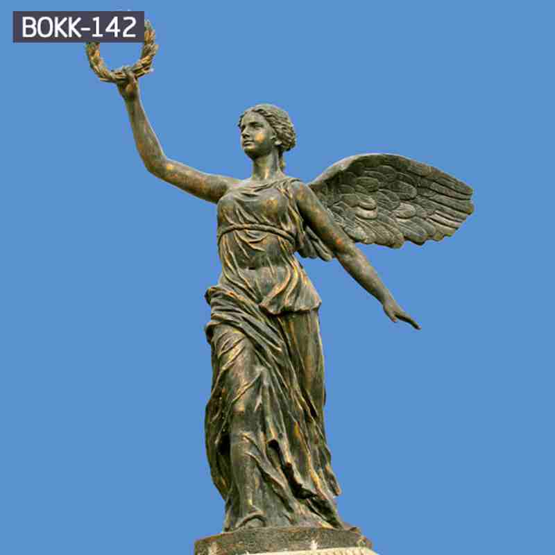 Classic Garden Decor Cast Bronze Angel Statue for Sale BOKK-142
