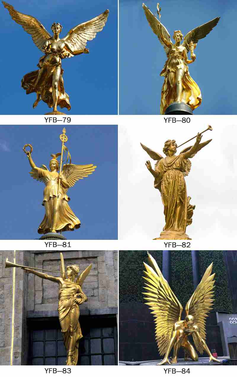 Classic Garden Decor Cast Bronze Angel Statue for Sale BOKK-142