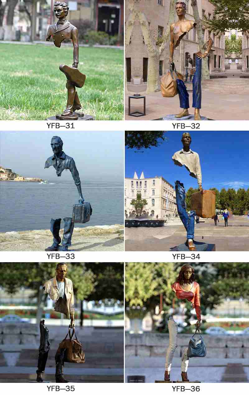 Customized Famous Bruno Catalano Replica Traveler Sculpture BOKK-60
