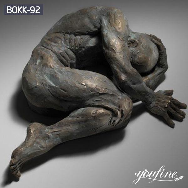Bronze figure Wall Art Statue Matteo Pugliese for Sale BOKK-92