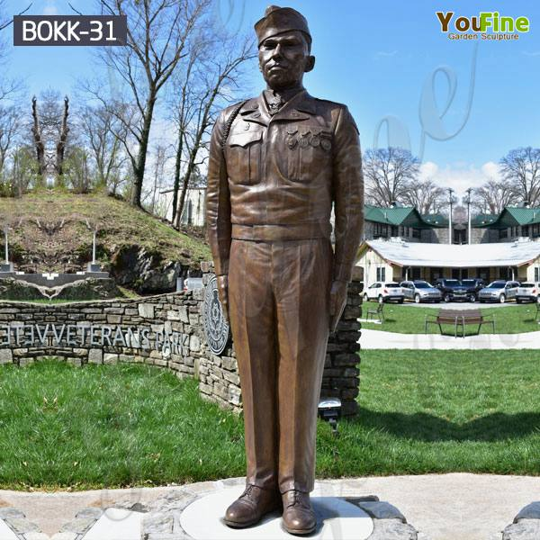 Where to Buy Life Size Bronze Memorial Military Soldier Sculpture Supplier