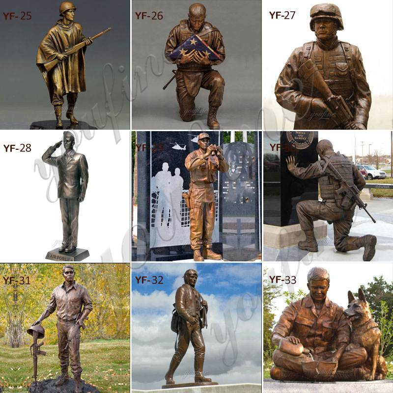 Life Size 107th Infantry