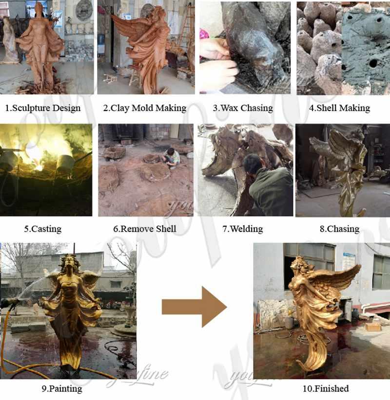 Archangel Michael Slaying the Devil Statue Sale BOKK-141