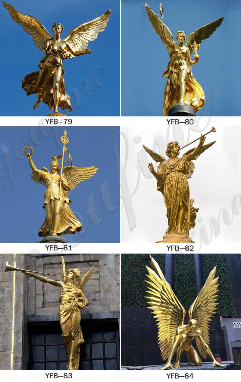 Life Size Bronze Archangel Michael Slaying the Devil Statue