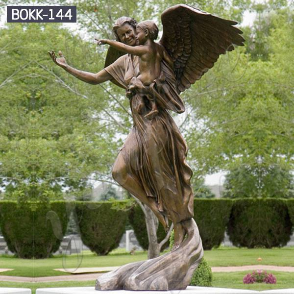 High Quality Bronze Classic Angle Sculpture China Factory for Sale-BOKK-144