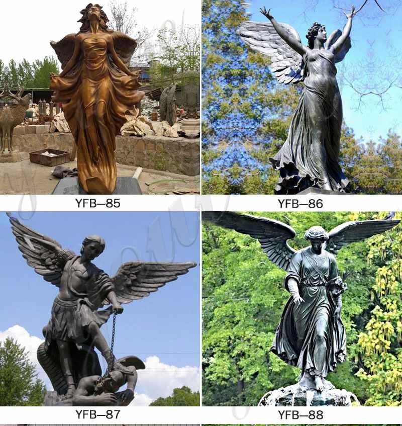 High Quality Bronze Classic Angle SculptureChina
