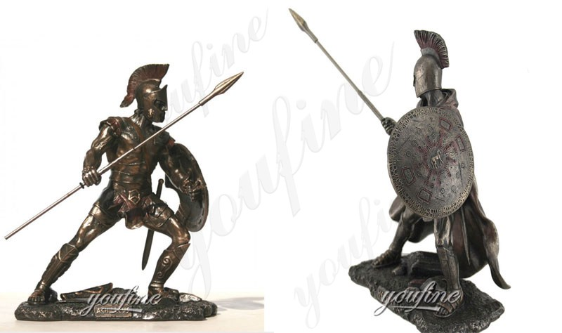Customized Military Trojan War Bronze
