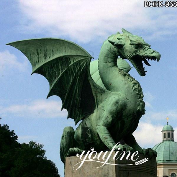 Giant Bronze dragon Garden Decoration for Sale BOKK-968