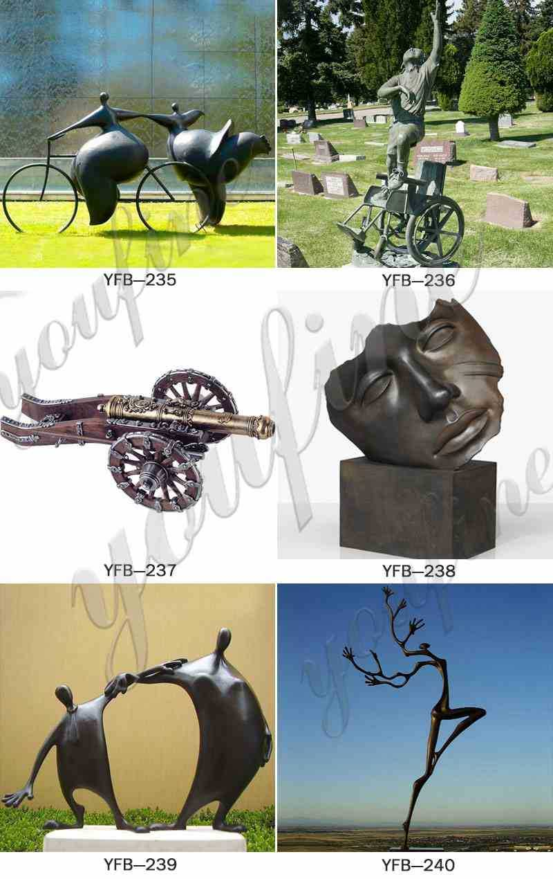 Bronze-Grosse-Femme-Sculpture